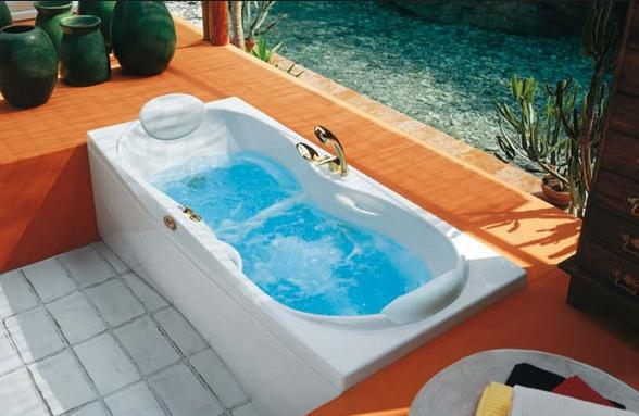 Janus 180x80 by jacuzzi made in italy 9443 010 - Colorare acqua vasca da bagno ...